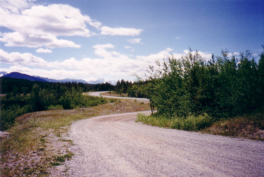 Along Highway 20 in Chilcotin territory