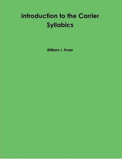 Cover of Book Introduction to the Carrier Syllabics
